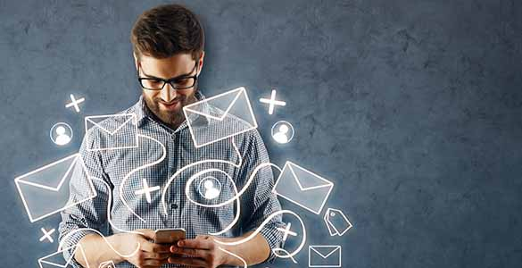 logiciel caisse emailing et envoi de SMS
